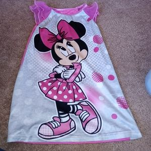Pink Minnie Mouse Nightgown